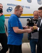 Володимир Зеленський про повернення 35 утримуваних українців додому: Ми зробили перший крок і знаємо, що робити далі