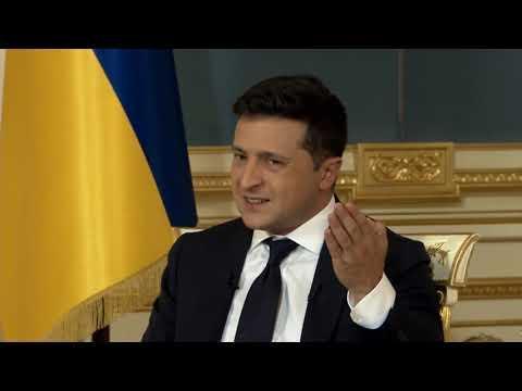 Вбудована мініатюра для Відео зустрічі Президента України з журналістами.